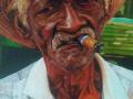 Osvaldo Marimón Azcuy  Tradición.  (Óleo -lienzo)  80 x 60 cm 2020